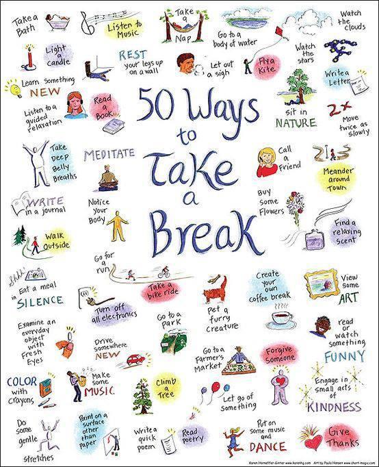 relax spreuken take a break   SpondyGazet relax spreuken