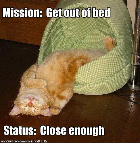 mission get out of bed
