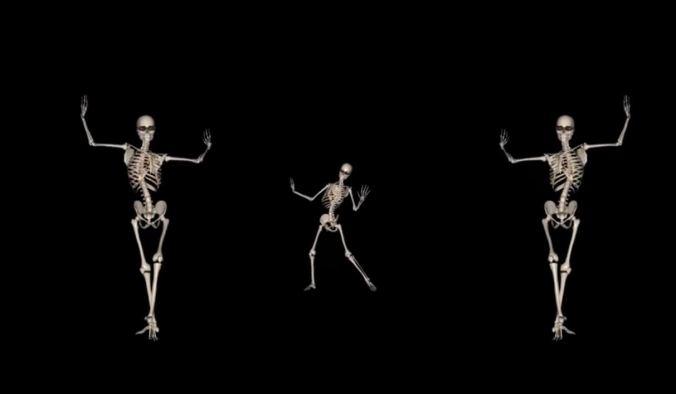 dansendskelet
