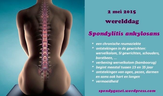 Werelddag Spondylitis Ankylosans